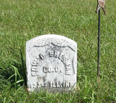 SHERMAN, EDW. D. - Lancaster County, Nebraska | EDW. D. SHERMAN - Nebraska Gravestone Photos