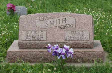 SMITH, CLAUDE C. - Lancaster County, Nebraska | CLAUDE C. SMITH - Nebraska Gravestone Photos