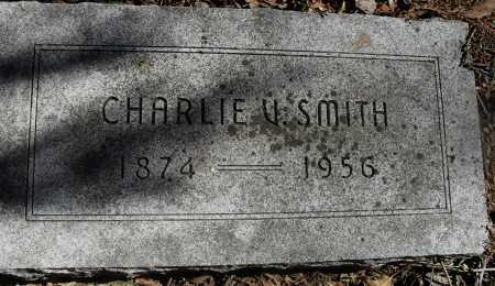 SMITH, CHARLIE V - Lancaster County, Nebraska | CHARLIE V SMITH - Nebraska Gravestone Photos