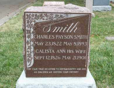 SMITH, CALISTA ANN - Lancaster County, Nebraska | CALISTA ANN SMITH - Nebraska Gravestone Photos
