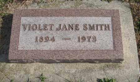 SMITH, VIOLET JANE - Lancaster County, Nebraska | VIOLET JANE SMITH - Nebraska Gravestone Photos