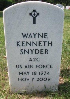 SNYDER, WAYNE KENNETH - Lancaster County, Nebraska   WAYNE KENNETH SNYDER - Nebraska Gravestone Photos