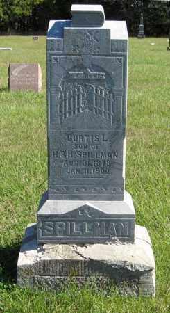 SPILLMAN, CURTIS L. - Lancaster County, Nebraska | CURTIS L. SPILLMAN - Nebraska Gravestone Photos