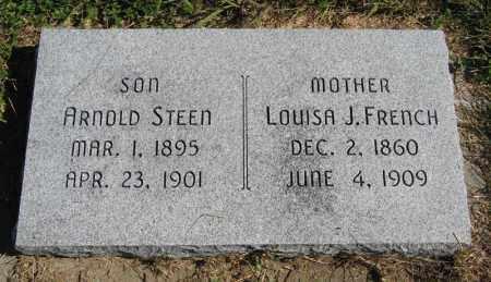 STEEN, ARNOLD - Lancaster County, Nebraska | ARNOLD STEEN - Nebraska Gravestone Photos
