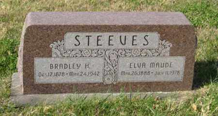 STEEVES, BRADLEY H. - Lancaster County, Nebraska | BRADLEY H. STEEVES - Nebraska Gravestone Photos