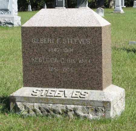 STEEVES, GILBERT F. - Lancaster County, Nebraska | GILBERT F. STEEVES - Nebraska Gravestone Photos