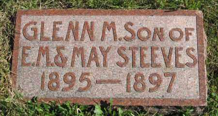 STEEVES, GLENN M. - Lancaster County, Nebraska   GLENN M. STEEVES - Nebraska Gravestone Photos