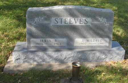 STEEVES, IRWIN B. - Lancaster County, Nebraska | IRWIN B. STEEVES - Nebraska Gravestone Photos