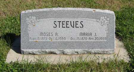 STEEVES, MOSES A. - Lancaster County, Nebraska | MOSES A. STEEVES - Nebraska Gravestone Photos