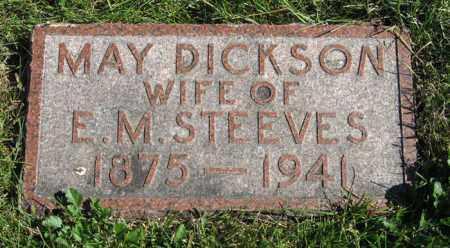 STEEVES, MAY - Lancaster County, Nebraska | MAY STEEVES - Nebraska Gravestone Photos
