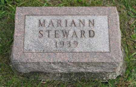 STEWARD, MARIANN - Lancaster County, Nebraska   MARIANN STEWARD - Nebraska Gravestone Photos