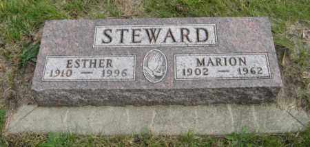 STEWARD, ESTHER - Lancaster County, Nebraska | ESTHER STEWARD - Nebraska Gravestone Photos