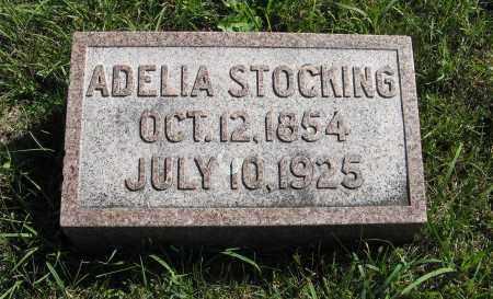STOCKING, ADELIA - Lancaster County, Nebraska | ADELIA STOCKING - Nebraska Gravestone Photos