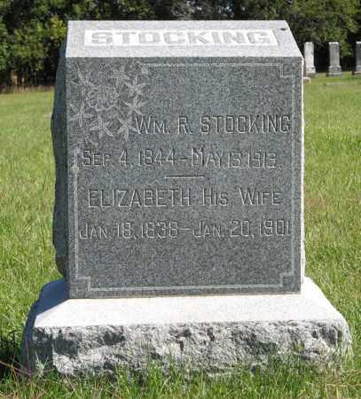 STOCKING, ELIZABETH - Lancaster County, Nebraska | ELIZABETH STOCKING - Nebraska Gravestone Photos