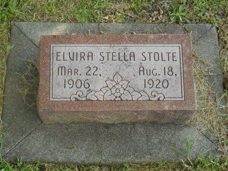 STOLTE, ELVIRA - Lancaster County, Nebraska | ELVIRA STOLTE - Nebraska Gravestone Photos