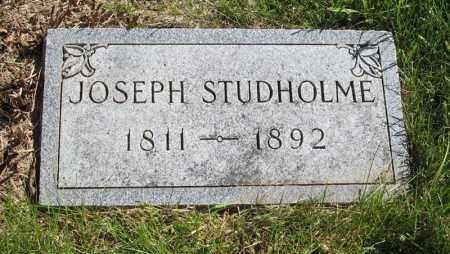 STUDHOLME, JOSEPH - Lancaster County, Nebraska | JOSEPH STUDHOLME - Nebraska Gravestone Photos