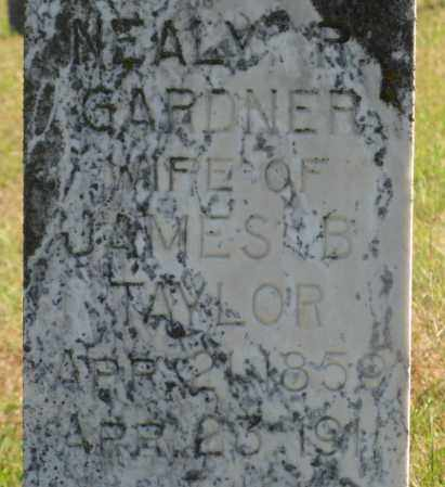 TAYLOR, NEALY R. (CLOSEUP) - Lancaster County, Nebraska | NEALY R. (CLOSEUP) TAYLOR - Nebraska Gravestone Photos