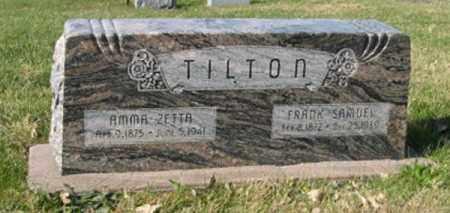 TILTON, FRANK SAMUEL - Lancaster County, Nebraska | FRANK SAMUEL TILTON - Nebraska Gravestone Photos