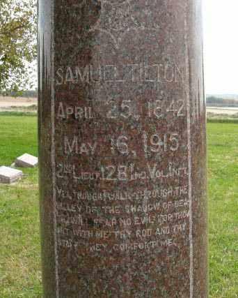 TILTON, SAMUEL - Lancaster County, Nebraska   SAMUEL TILTON - Nebraska Gravestone Photos