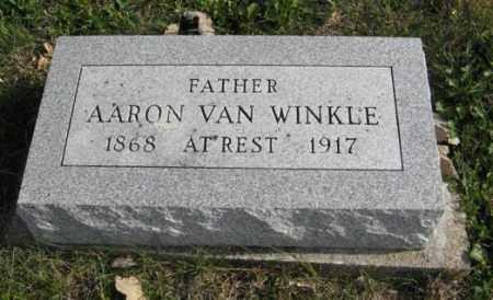 VAN WINKLE, AARON - Lancaster County, Nebraska | AARON VAN WINKLE - Nebraska Gravestone Photos