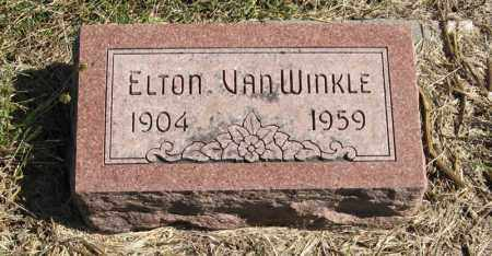 VAN WINKLE, ELTON - Lancaster County, Nebraska | ELTON VAN WINKLE - Nebraska Gravestone Photos