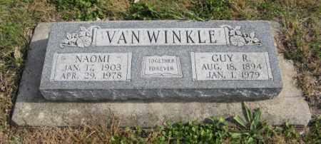 VAN WINKLE, GUY R. - Lancaster County, Nebraska | GUY R. VAN WINKLE - Nebraska Gravestone Photos