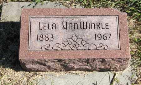 VAN WINKLE, LELA - Lancaster County, Nebraska | LELA VAN WINKLE - Nebraska Gravestone Photos