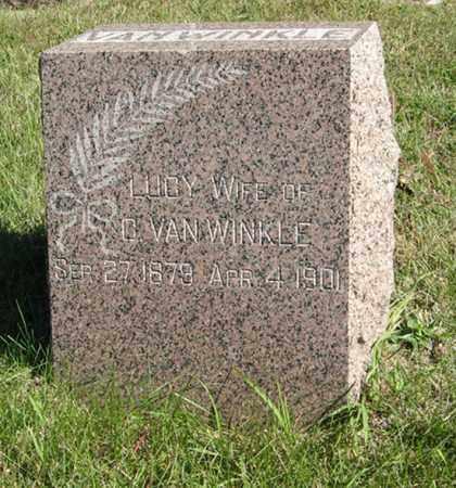 VAN WINKLE, LUCY - Lancaster County, Nebraska | LUCY VAN WINKLE - Nebraska Gravestone Photos