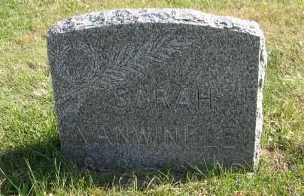 VAN WINKLE, SARAH - Lancaster County, Nebraska   SARAH VAN WINKLE - Nebraska Gravestone Photos