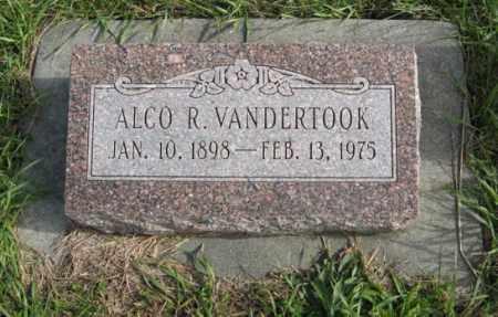 VANDERTOOK, ALCO R. - Lancaster County, Nebraska   ALCO R. VANDERTOOK - Nebraska Gravestone Photos