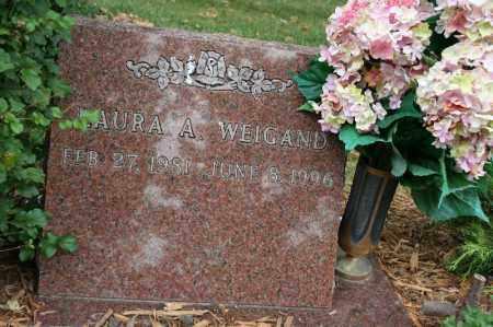 WEIGAND, LAURA A. - Lancaster County, Nebraska   LAURA A. WEIGAND - Nebraska Gravestone Photos