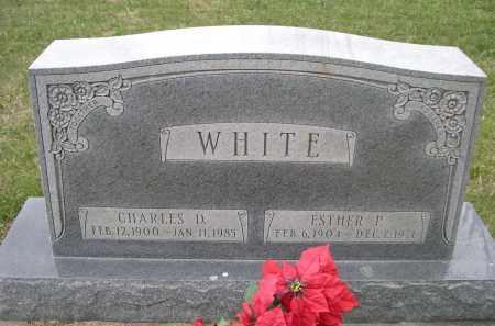 WHITE, ESTHER P. - Lancaster County, Nebraska | ESTHER P. WHITE - Nebraska Gravestone Photos