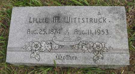 WITTSTRUCK, LILLIE M. - Lancaster County, Nebraska | LILLIE M. WITTSTRUCK - Nebraska Gravestone Photos