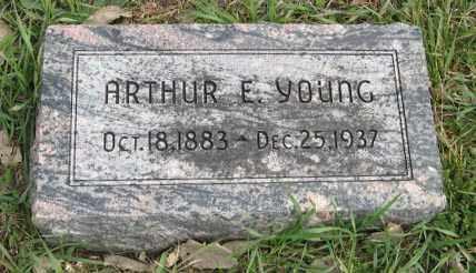 YOUNG, ARTHUR E. - Lancaster County, Nebraska | ARTHUR E. YOUNG - Nebraska Gravestone Photos