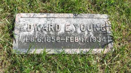 YOUNG, EDWARD E. - Lancaster County, Nebraska | EDWARD E. YOUNG - Nebraska Gravestone Photos