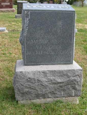 YOUNG, AMANDA - Lancaster County, Nebraska | AMANDA YOUNG - Nebraska Gravestone Photos