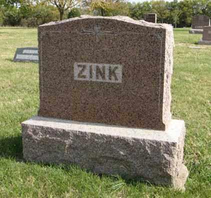 ZINK, FAMILY - Lancaster County, Nebraska   FAMILY ZINK - Nebraska Gravestone Photos