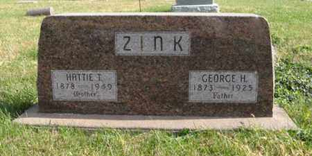 ZINK, HATTIE T. - Lancaster County, Nebraska | HATTIE T. ZINK - Nebraska Gravestone Photos