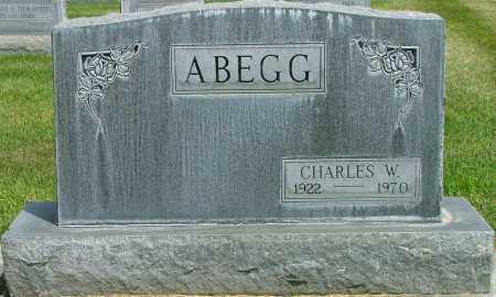 ABEGG, CHARLES - Lincoln County, Nebraska   CHARLES ABEGG - Nebraska Gravestone Photos