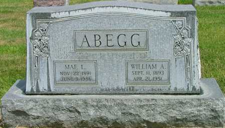 ABEGG, WILLIAM - Lincoln County, Nebraska | WILLIAM ABEGG - Nebraska Gravestone Photos