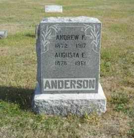 ANDERSON, AUGUSTA E. - Lincoln County, Nebraska | AUGUSTA E. ANDERSON - Nebraska Gravestone Photos