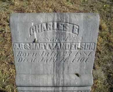 ANDERSON, CHARLES E. - Lincoln County, Nebraska | CHARLES E. ANDERSON - Nebraska Gravestone Photos