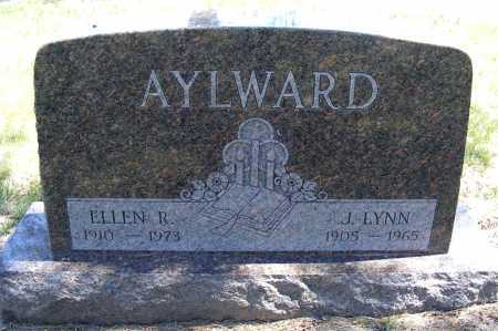 AYLWARD, J. LYNN - Lincoln County, Nebraska | J. LYNN AYLWARD - Nebraska Gravestone Photos