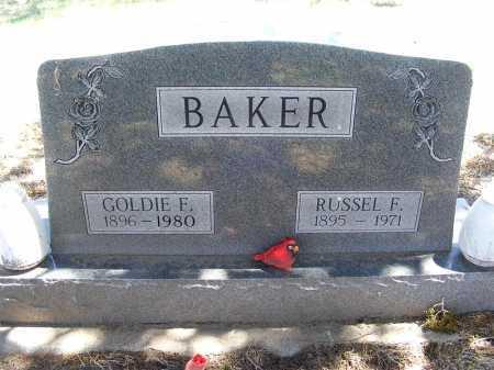BAKER, GOLDIE F. - Lincoln County, Nebraska | GOLDIE F. BAKER - Nebraska Gravestone Photos