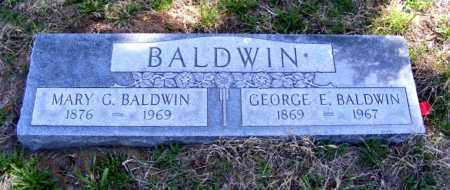 BALDWIN, MARY G. - Lincoln County, Nebraska | MARY G. BALDWIN - Nebraska Gravestone Photos