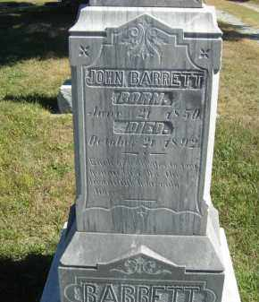 BARRETT, JOHN - Lincoln County, Nebraska | JOHN BARRETT - Nebraska Gravestone Photos