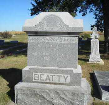 BEATTY, WILLIAM G. - Lincoln County, Nebraska | WILLIAM G. BEATTY - Nebraska Gravestone Photos