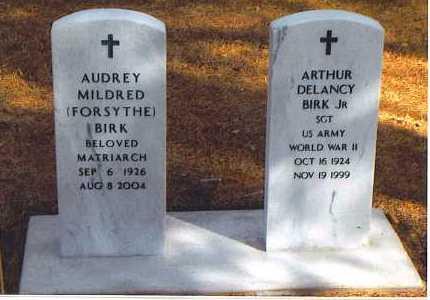 FORSYTHE BIRK, AUDREY MILDRED - Lincoln County, Nebraska | AUDREY MILDRED FORSYTHE BIRK - Nebraska Gravestone Photos
