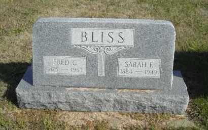 BLISS, SARAH E. - Lincoln County, Nebraska | SARAH E. BLISS - Nebraska Gravestone Photos