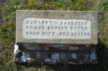 BOYER, MARLENE - Lincoln County, Nebraska | MARLENE BOYER - Nebraska Gravestone Photos